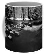 Eisbach In The Winter Coffee Mug
