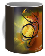 Ekg Stethoscope Composite Coffee Mug