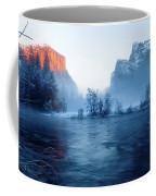 El Capitan At Blue Hour Coffee Mug