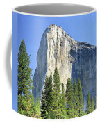 El Capitan Over The Merced River - Yosemite Valley Coffee Mug