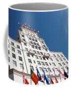 El Cortez With Flags Coffee Mug