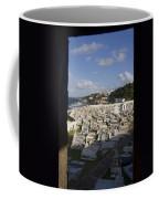 El Morro Cemetery Framed Coffee Mug