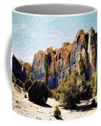 El Morro Cliffs Coffee Mug