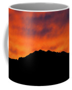 El Paso Fiery Sunset Panoramic Coffee Mug