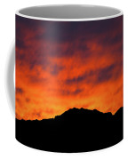 El Paso Fiery Sunset Coffee Mug