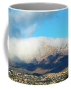 El Paso Franklin Mountains And Low Clouds Coffee Mug
