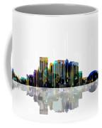 El Paso Mexico Skyline Coffee Mug