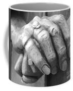 Elderly Hands Coffee Mug