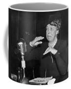 Eleanor Roosevelt At Hearing Coffee Mug