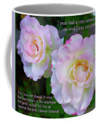 Eleanor Roosevelt Roses Coffee Mug