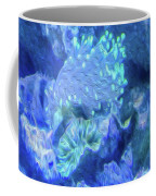 Electric Coral Coffee Mug
