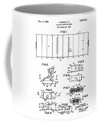 Electric Football Patent 1955 Coffee Mug
