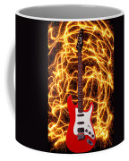 Electric Guitar With Sparks Coffee Mug