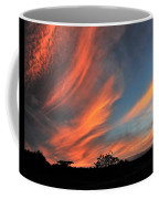 Electric Hawaiian Sunset Big Island Hawaii Coffee Mug