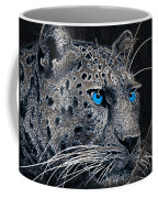 Electric Leopard Coffee Mug