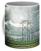 Electric Lines And Weather Coffee Mug