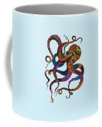 Electric Octopus Coffee Mug by Tammy Wetzel