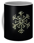 Electric Snowflake Coffee Mug