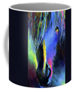 electric Stallion horse painting Coffee Mug by Svetlana Novikova