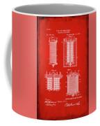 Electrical Battery Patent Drawing 1b Coffee Mug
