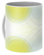 Electricity Semi Circle Background Horizontal Coffee Mug