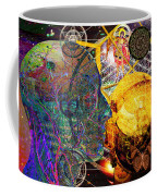 Electromagnetic Lighthouse Thirdeye Portal Coffee Mug by Joseph Mosley