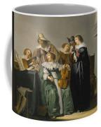 Elegant Company Making Music Coffee Mug