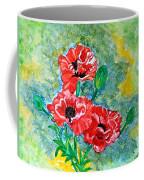 Elegant Poppies Coffee Mug