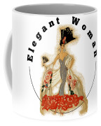 Elegant Woman Coffee Mug