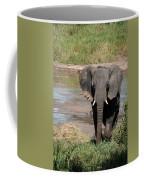 Elephant At The River Coffee Mug