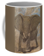 Elephant Charging Coffee Mug