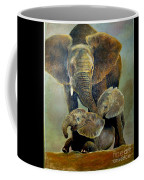Elephant Familly Coffee Mug