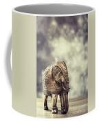 Elephant Figure Coffee Mug