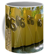 Elephant Fountain Two Coffee Mug