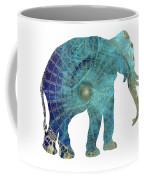 Elephant Maps Coffee Mug