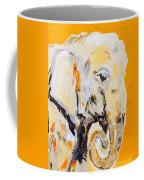 Elephant Orange Coffee Mug