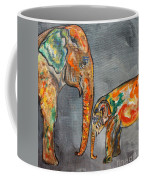 Elephant Play Day Coffee Mug