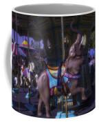 Elephant Ride At The Fair Coffee Mug