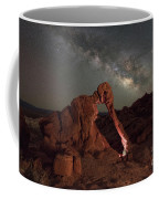 Elephant Rock Milky Way Galaxy Coffee Mug