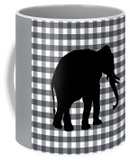 Elephant Silhouette Coffee Mug