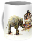Elephant With Ganesha Coffee Mug