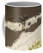Elephants On The Banks Of The Chobe Coffee Mug