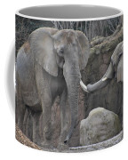 Elephants Playing 3 Coffee Mug