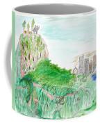 Elephoot And Friends In Satpura Mountains In India Coffee Mug