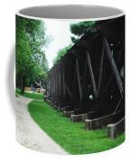Elevated Railroad Coffee Mug