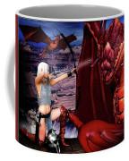 Elf Vs Dragon Coffee Mug