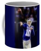 Eli Manning Coffee Mug by Paul Ward