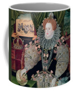 Elizabeth I Armada Portrait Coffee Mug by George Gower