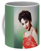 Elizabeth Taylor, Vintage Movie Star Coffee Mug