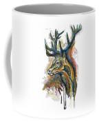 Elk Head Coffee Mug
